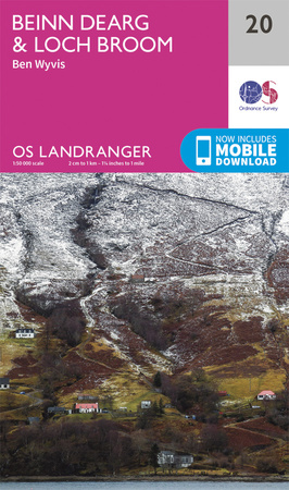 OS Landranger 20 - click to buy from Amazon