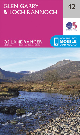 OS Landranger 42 - click to buy from Amazon
